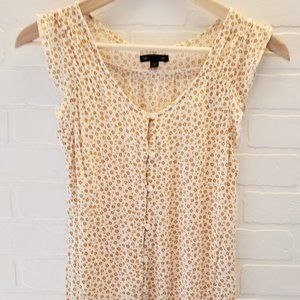 GAP Tops - Gap Floral Sleeveless Top Size XS